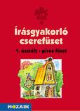ABC-ház - Előírt írásgyak. cserefüzet 1.o.- PIROS