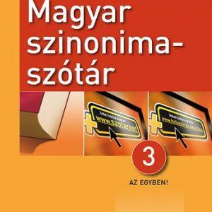 Magyar szinonimaszótár 3 az 1-ben