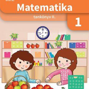 Matematika tankönyv 1. osztályosoknak II. kötet
