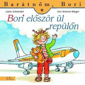 Bori repülőn utazik