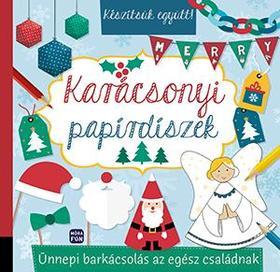 Karácsonyi papírdíszek