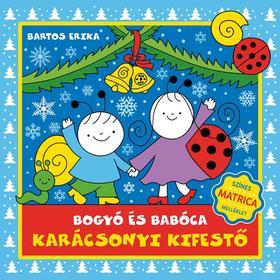 Bogyó és Babóca - Karácsonyi kifestő