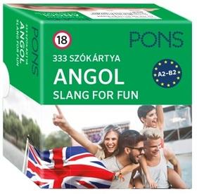 PONS 333 Szókártya angol - Slang for fun