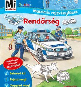 Rendőrség - Mi MICSODA Junior Matricás rejtvényfüzet