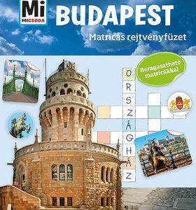 Budapest - Mi MICSODA matricás rejtvényfüzet